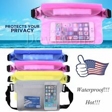 Waterproof Bag Underwater Waist Strap Pouch Pack Dry Case for All Cellphone