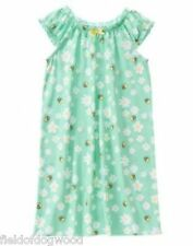 NWT Gymboree Girls Bee and Daisies nightgown size 4, 5-6 Girls