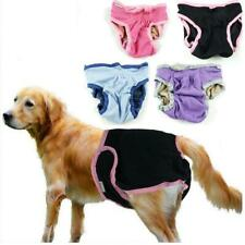 FEMALE DOG PANTS DIAPER NAPPY PANT CLOTHES BITCH IN SEASON PUPPY NAPPIES