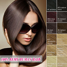 Top Quality Remy Human Full Head Clip in Hair Extensions  UK Storage 16-26 Inch