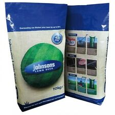 Johnsons Hard Wearing Fast Growing Shady Premium Grass Lawn Seed Multiple Sizes