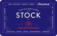 Stockpile eGift Card Fashion $25 or $50 Value  - Fast Email delivery