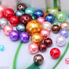 Wholesale Mixed Czech Beads Glass Pearl Spacer Round Loose Beads 4/6/8/10/12mm