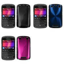 For BlackBerry Curve 9350 9360 9370 Aluminum Armor Cosmo Slim Hard Case Cover