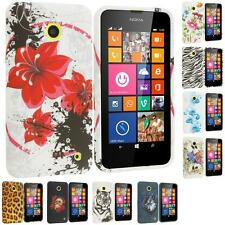 For Nokia Lumia 630 635 TPU Design Rubber Silicone Skin Case Cover Accessory