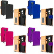 For Samsung Galaxy S7 Active Phone Wallet PU Leather Flip Case Card Pocket Slots