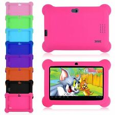 "7"" Silicone Soft Case Covers For 7"" Android A23 / A33 Q88 Y88 Tablet PC Kids"