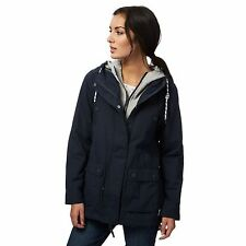 Mantaray Womens Navy Mock Layered Shower Resistant Jacket From Debenhams
