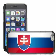 Hard Phone Case Cover Skin For Apple iPhone slovakia national flag country flag