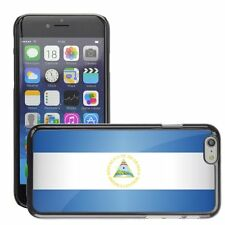 Hard Phone Case Cover Skin For Apple iPhone nicaragua national flag country flag