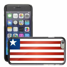 Hard Phone Case Cover Skin For Apple iPhone liberia national flag country flag