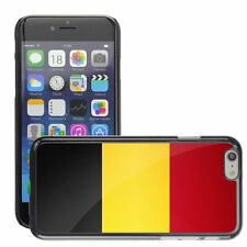 Hard Phone Case Cover Skin For Apple iPhone belgium national flag country flag