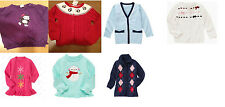NWT Gymboree girls Pullover Cardigan sweater tunic argyle ruffled gem XS S M L