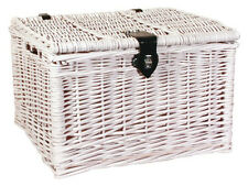 FASTRIDER WICKER BASKET BAKER DECORATIVE BICYCLE SHOPPING RATTAN LID