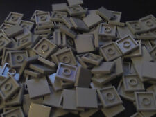 50 x LEGO Town Star Wars Light Grey Tile 2x2 Smooth modular ( part no 3068 )