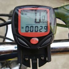 Bike Bicycle Wireless/Wired  Cycle Computer Odometer Speedometer Waterproof SV