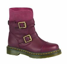 Dr Martens Doc Boots Kristy Slouch Boat Cherry - Red 20876600 The Original