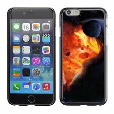 Hard Phone Case Cover Skin For Apple iPhone Explosion inside space planet
