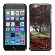 Hard Phone Case Cover Skin For Apple iPhone Trees loosing the last leaves