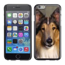 Hard Phone Case Cover Skin For Apple iPhone Smile of faithful collie dog