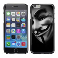 Hard Phone Case Cover Skin For Apple iPhone Guy Fox Mask with smile