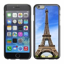 Hard Phone Case Cover Skin For Apple iPhone Sunny day and Eiffel Tower