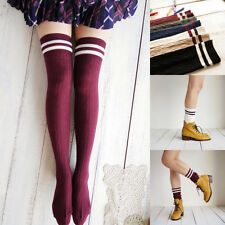 High Stockings Compression Stockings Over  Knee Socks Cylinder College Wind
