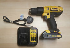 DEWALT 18V CORDLESS COMBI DRILL DCD776 LI-ION With Battery & Charger