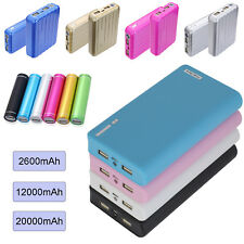 20000mAh USB Portable External Battery Charger Power Bank For Cell Mobile Phone