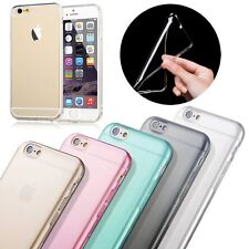 Transparent Clear Soft TPU Rubber Gel Case Cover Skin for Apple iPhone 6 6S 4.7