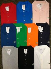 NEW MENS LACOSTE S/S CLASSIC FIT SPORT SUPER LIGHT TENNIS POLO GOLF SHIRT, $89
