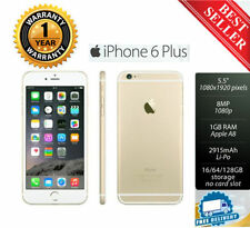 APPLE iPhone 6 Plus/ iphone 6 / iPhone 4S Sim Free 4G AT&T UNLOCKED 5 Colors Z22