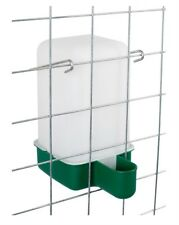 NEW CHICK QUAIL AVIARY PIGEON CAGE DRINKER 1 LITRE FLOWMATIC