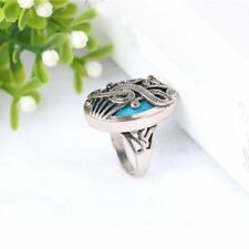 Finger Rhinestone Oval 4 Sizes Vintage Charming Resin Jewelry Ring Music Note