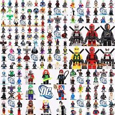 All Marvel Superheroes Batman X-men Antman Wonder woman Minifigures Fit Lego