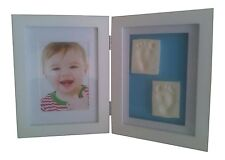 A Baby Casting Impression Kit For Baby Boy/Girl Handprint Or Footprint & White