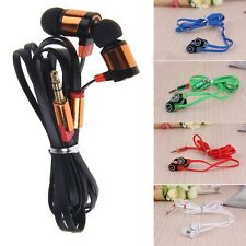 For IPhone Samsung CellPhone MP3 MP4 IPod PC 3.5mm Earphone In-Ear Headphone