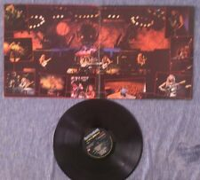 Lp Viniles acetato records IRON MAIDEN A real live one