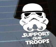 Support our troops Stormtrooper StarWars Force Awaken Personalized Sticker Decal