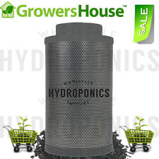 """Growers House Carbon Inline Filter(s) 4"""", 6"""", 8"""" 200-750 CFM Scrubber- Pick Size"""