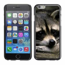 Hard Phone Case Cover Skin For Apple iPhone Romantic racoon dreaming