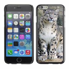 Hard Phone Case Cover Skin For Apple iPhone Snow leopard with baby