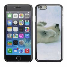 Hard Phone Case Cover Skin For Apple iPhone Fur seal plays on his ba
