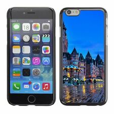 Hard Phone Case Cover Skin For Apple iPhone City in Quebec Canada