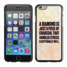 Hard Phone Case Cover Skin For Apple iPhone 32 diamond charcoal light beige pink
