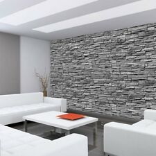 "Fleece Photo Wallpaper ""Asian Stone wall no. 2"" ! Steinopti"