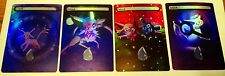 4 FOIL MTG ALTERED ART ISLANDS ESPEON POKEMON POKEBALL EDH COMMANDER FOIL BONUS