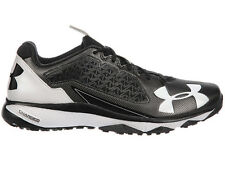 NEW MENS UNDER ARMOUR DECEPTION TRAINER RUNNING SHOES TRAINERS BLACK / WHITE