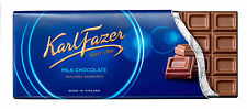Karl FAZER VARIOUS Chocolate Bars 200g (7oz) Since 1891 Made in Finland