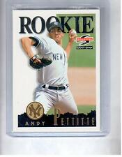 Any Pettitte 6 RC Lot 95 Score Rookie 3 Donruss Rated RC Fleer ultra 96 Pinnacle